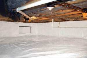 Crawl Space Repair After in Marietta